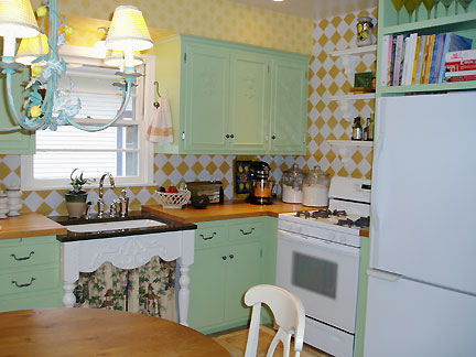 Mid century carley blackman yonkman for 50s kitchen ideas